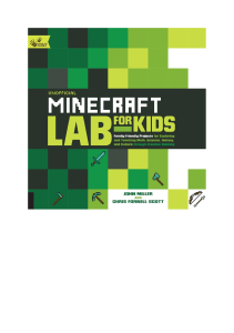 (Hands-On Family) John Miller, Chris Fornell Scott - Unofficial Minecraft Lab for Kids  Family-Friendly Projects for Exploring and Teaching Math, Science, History, and Culture Through Creative Buildin