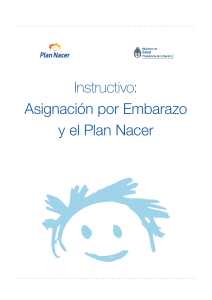 instructivo aue y plan nacer