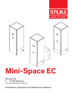 STULZ Mini-Space EC IOM OCC0207-