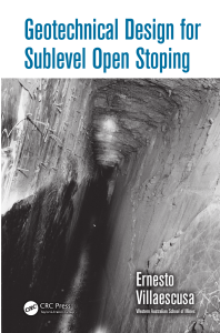libro Ernesto Villaseca Geotechnical desing for Sublevel Open Stoping