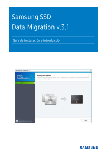 Samsung SSD Data Migration User Manual SPA v.3.1