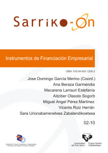FINANCIACION EMPRESARIAL  LIBRO