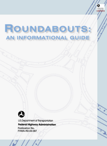 FHWA Roundabouts An Informational Guide