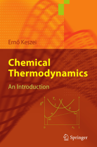 2012 Book ChemicalThermodynamics