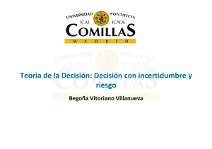 Decision con incertidumbre