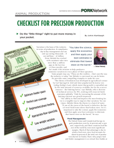 Checklist-for-Precision-Production April2014