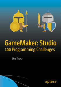GameMaker Studio 100 Programming Challenges