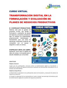 CURSO VIRTUAL-SYSPROJECT