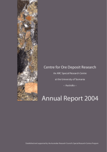 CODES Annual Report 2004