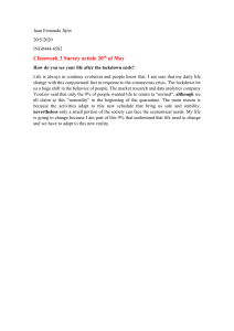 Classwork 3 Survey article 20th of May