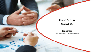 Scrum Costa Rica 2018 Sprint1