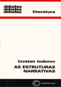 TODOROV, T. As estruturas narrativas (2)
