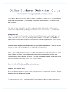 Online-Business-Quickstart-Guide