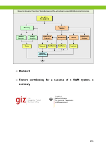GIZ Manual on Industrial Hazardous Waste Management for Authorities in Low and Middle Income Economies Module 9