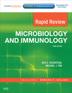 Rapid review microbiology and Immunology 3rd-ed