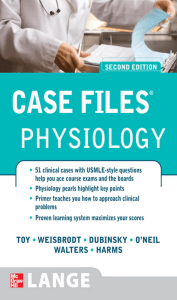 Case Files- Physiology, 2nd ed. 2009
