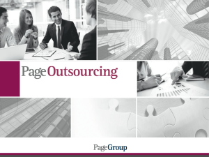 Page Outsourcing - EV