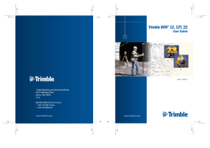 Trimble DiNi 12 12T 22 User Guide 571703071 ver0400 ENG