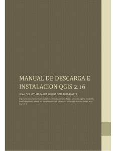 MANUAL DE DESCARGA QGIS