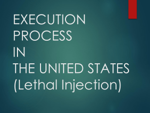 DEATH PENALTY PROCESS