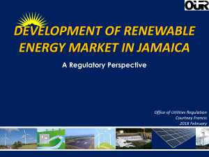 RE Development in Jamaica