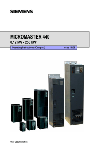 Manual practico micromaster 440