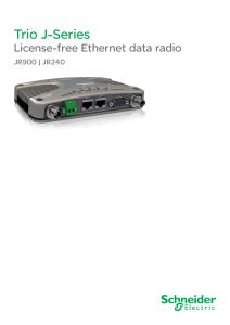 Radio Trio JR900