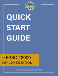 FSSC-22000-Version-5-Quick-Start-Guide