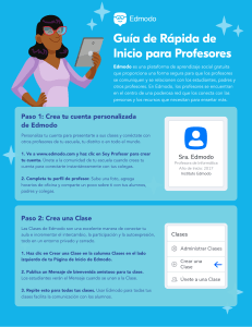 Edmodo TeacherQuickStartGuide Spanish
