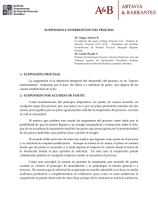 Capitulo 17 Suspension proceso