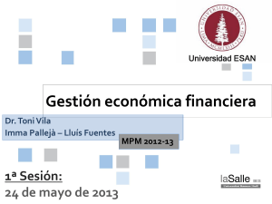 Gestion economica financiera