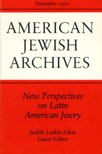 American Jewish Archives 1982 34 02 00