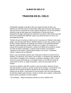 Traicion en el Cielo