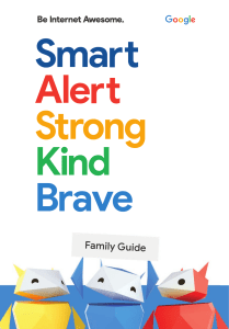 Google BeInternetAwesome DigitalCitizenshipSafety FamilyGuide