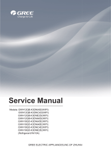 Service Manual Gree Lomo eco 12-18