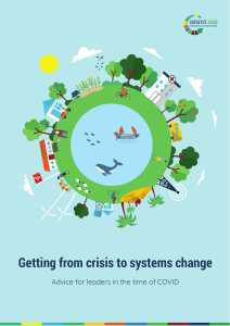 Catalyst 2030 Report - From crisis to systems change