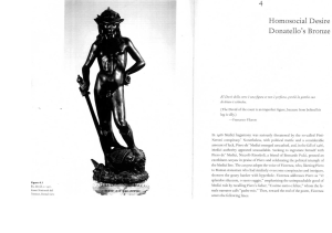 Homosocial Desire and Donatello s Bronze David