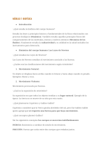 Módulo 7 Biociencias
