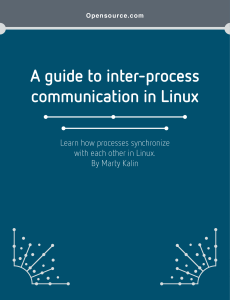 A guide to inter-process communication in Linux