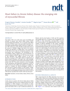 Heart failure in chronic kidney disease