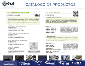 Catalogo General G&G 2014