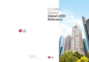 LG HVAC Solution Global LEED Reference