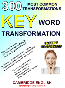 300 Key Word Transformation