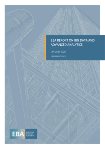 Final Report on Big Data and Advanced Analytics